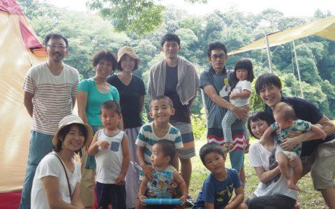 ファミキャン2017/7/15-17 明野キャンプ場