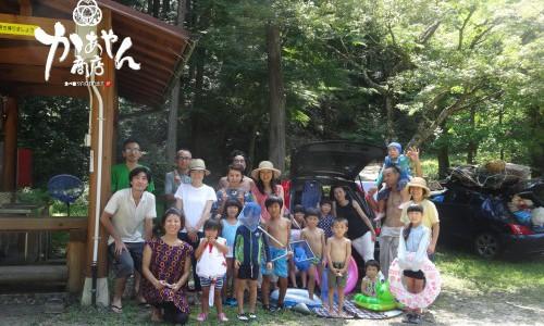 【2015.8.22‐23】かぁやん商店初企画 ファミキャンしよう!